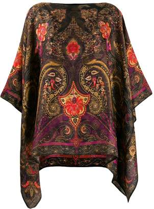 Etro paisley print tunic top