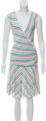 Missoni Knit Patterned Skirt Set White Knit Patterned Skirt Set