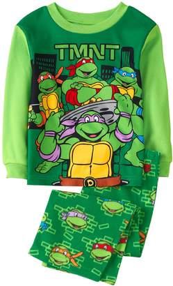 Crazy 8 Crazy8 Teenage Mutant Ninja Turtles Fuzzy 2-Piece Pajama Set