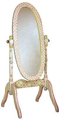Fantasy Fields by Teamson Crackled Rose Standing Mirror