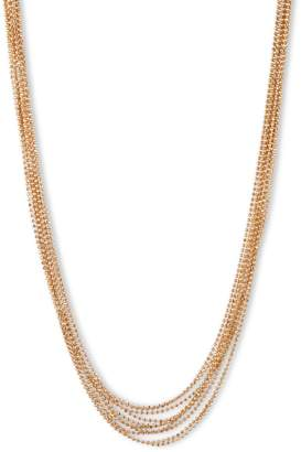 Anne Klein Goldplated Multi-Row Collar Necklace