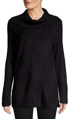 Calvin Klein Thick Cable-Knit Turtleneck