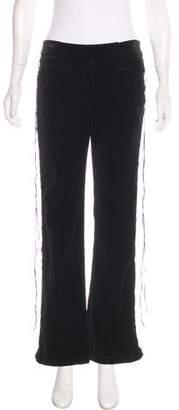 St. John High-Rise Velvet Pants