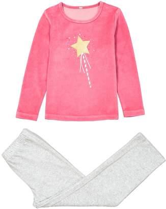 La Redoute COLLECTIONS Velour Magic Wand Print Pyjamas, 3-12 Years