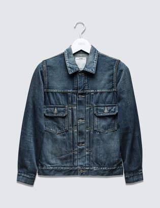 Visvim 101 Damaged Jacket (Blue)