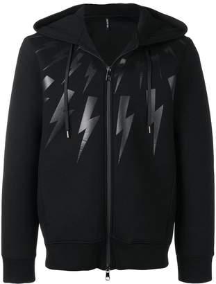 Neil Barrett thunderbolt hoodie