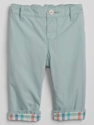 Gap Pull-On Lined Chinos