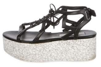 Stella McCartney Vegan Leather Caged Sandals