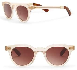 Toms Women's 47mm Fin Matte Champagne Sunglasses