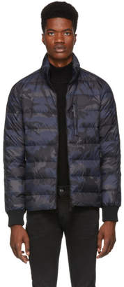 Valentino Navy Camo Down Jacket