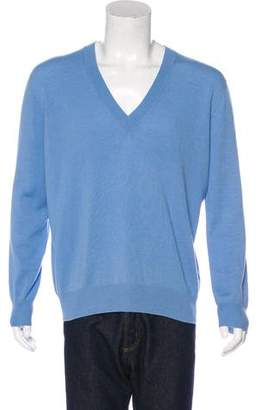 Tomas Maier Cashmere V-Neck Sweater
