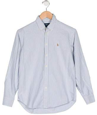 Ralph Lauren Boys' Button-Up Shirt