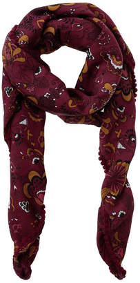 Miss Shop Floral Paisley Print Square Scarf MSS0303