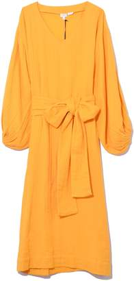 Rhode Resort Delilah Dress in Saffron