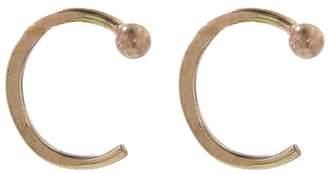 Melissa Joy Manning Small Hug Earrings - Yellow Gold