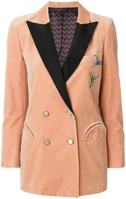 Blazé Milano dragonfly embroidered jacket