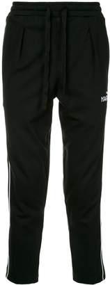 Puma side logo stripe track pants