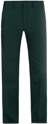 Prada Straight-leg twill trousers