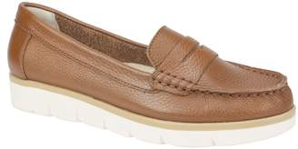 White Mountain Slip-On Leather Loafer Moccasins- Astella