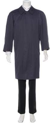 Burberry Nova Check Wool-Lined Coat