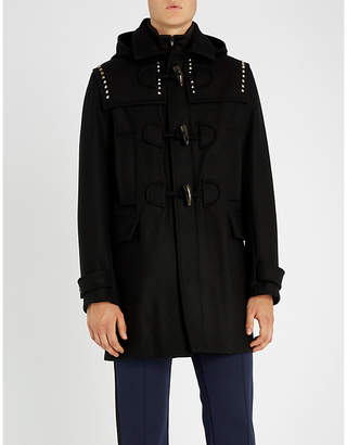 Valentino Studded wool duffel coat