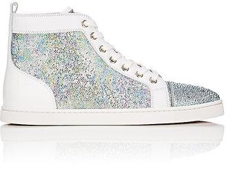 "Christian Louboutin Women's ""Bip Bip Strass Woman Flat"" Sneakers $1,495 thestylecure.com"