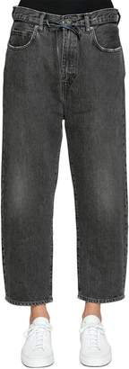 Levi's Tapered Cropped Barrel Denim Jeans