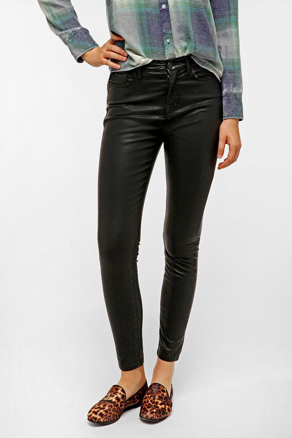 BDG Twig High-Rise Vegan Leather 5-Pocket Pant
