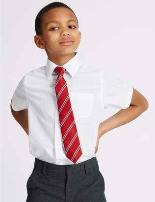 Marks and Spencer 2 Pack Boys' Easy to Iron Shirts