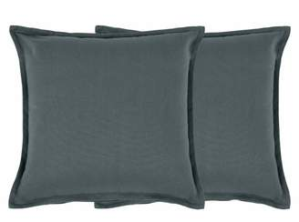 Wespa Set of 2 Cotton Cushions 45 x 45cm, Charcoal