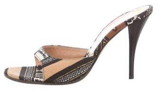 Casadei Ethnic Slide Sandals