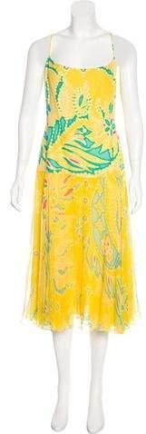 Ralph Lauren Linen & Silk-Blend Dress w/ Tags