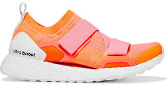 adidas by Stella McCartney Ultraboost X Logo-print Primeknit Sneakers - Orange