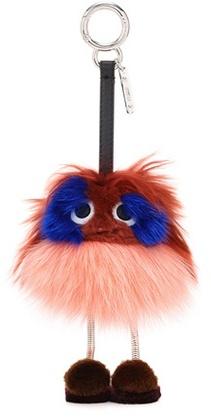 FendiFendi Fur Bag Charm