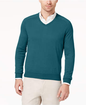 Brooks Brothers Red Fleece Men's Cotton/Cashmere Blend Sweater