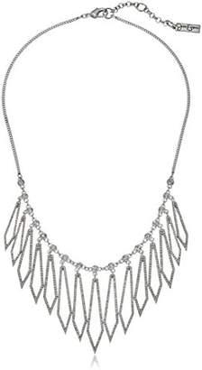 Jessica Simpson Drama Pave Diamond Frontal Necklace
