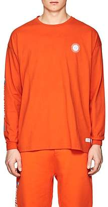 Stampd MEN'S LOGO COTTON T-SHIRT - ORANGE SIZE S