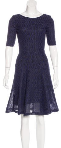Christian Dior Knit A-Line Dress
