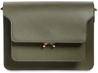 Marni Medium Trunk Smooth Leather Shoulder Bag