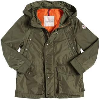 Moncler Caillau Hooded Nylon Coat