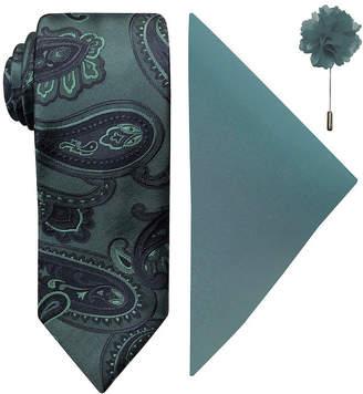 Jf J.Ferrar Paisley Tie Set