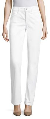 NYDJ Marilyn Straight-Leg Jean $114 thestylecure.com