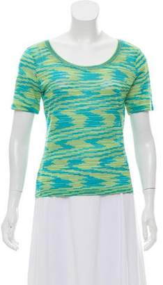Missoni Textured Short Sleeve Top