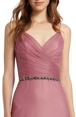 Women's Monique Lhuillier Bridesmaids Crystal Belt $100 thestylecure.com