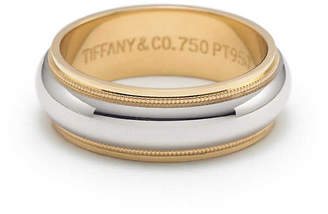 Tiffany & Co. ClassicTM milgrain wedding band ring