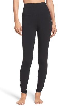 Women's Hard Tail Fleur-De-Lis High Waist Leggings $68 thestylecure.com