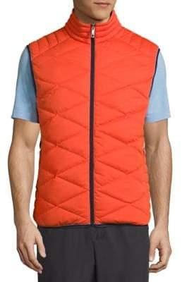Vilebrequin Frais Reversible Packable Quilted Vest