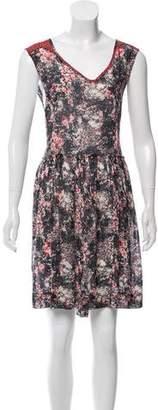 Etoile Isabel Marant Sleeveless Floral Dress