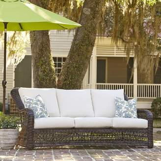 Birch Lane Rosemead Patio Sofa with Sunbrella Cushions