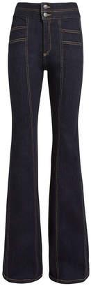 Veronica Beard Farrah Wide Leg Jeans